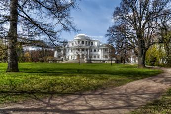 обоя saint petersburg, города, санкт-петербург,  петергоф , россия, дворец, парк