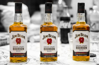 обоя бренды, jim beam, виски