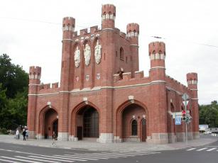 обоя королевские ворота, города, - исторические,  архитектурные памятники, королевские, калининград, ворота