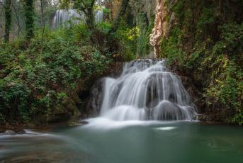 обоя природа, водопады, лес, река, водопад