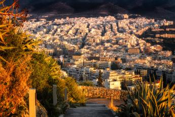обоя athens,  city of marble, города, афины , греция, панорама