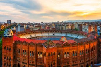 обоя barcelona, города, барселона , испания, панорама