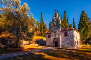 обоя podgorica church of st,  george, города, - православные церкви,  монастыри, храм