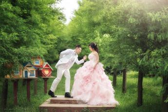 обоя разное, мужчина женщина, любовь, невеста, жених, свадьба, платье, праздник