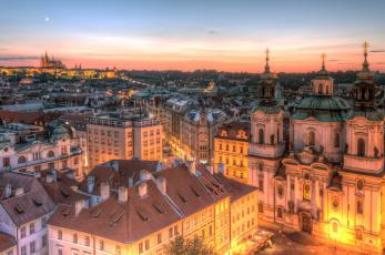 обоя prague, города, прага , Чехия, панорама