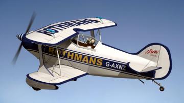 обоя авиация, 0д, рисованые, v-graphic, самолет, полет