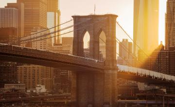 обоя города, - мосты, дома, мост, город, здания