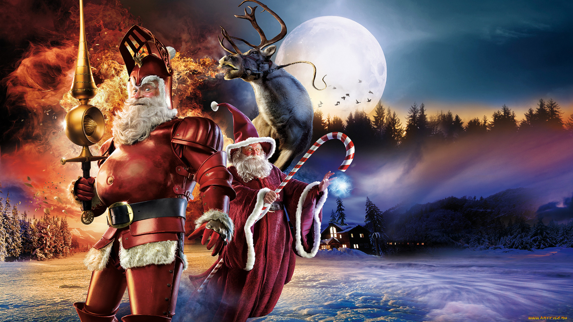 Санта-Клаус  № 967462 бесплатно