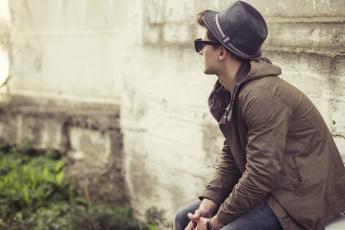 Картинка мужчины -+unsort парень очки шляпа стиль guy glasses hat style