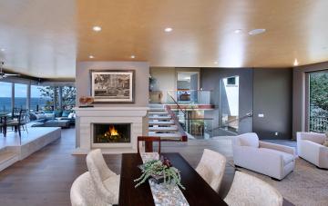 Картинка интерьер гостиная цветы мебель дизайн оформление