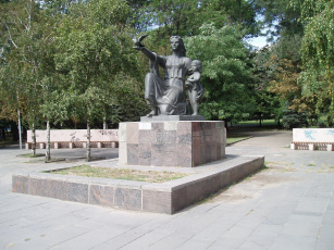 обоя города, - памятники,  скульптуры,  арт-объекты, город, памятник