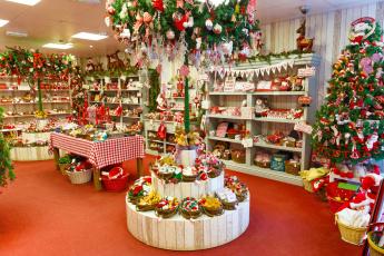 обоя праздничные, - разное , новый год, игрушки, подарки, елка