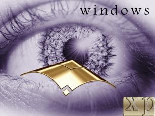 обоя взгляд, компьютеры, windows, xp