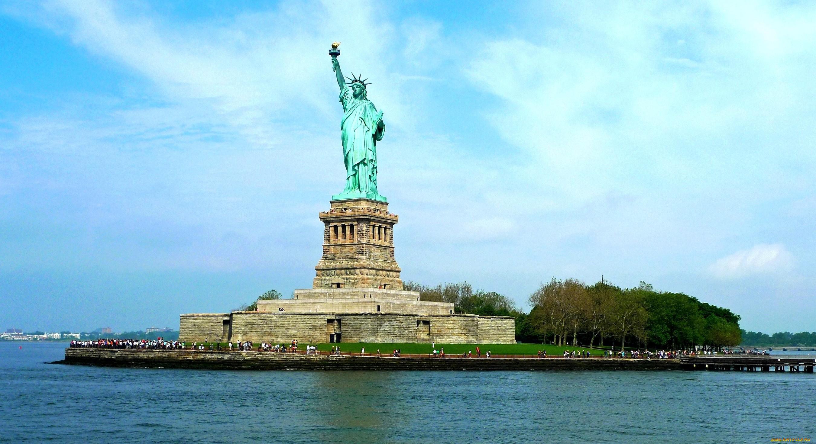 Иллюстраторе, картинки нью йорка статуя свободы