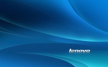 Картинка компьютеры -unknown+ разное стиль фон белый линии текстура голубой синий логотип lenovo леново