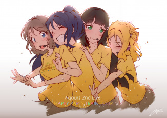 обоя аниме, love live,  school idol project, love, live