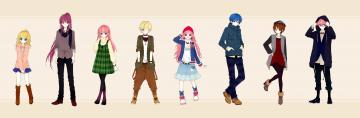 обоя аниме, vocaloid, вокалоид