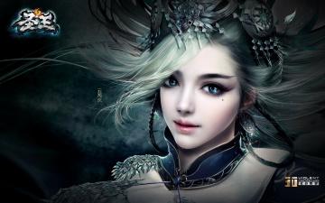 Картинка sage видео игры ~~~другое~~~ девушка взгляд