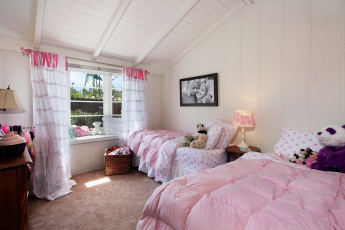обоя интерьер, детская комната, дизайн, кровать, детская, постель