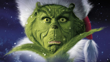 обоя how, the, grinch, stole, christmas, кино, фильмы, jim, carrey