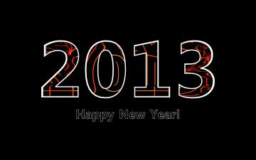 Картинка праздничные векторная графика новый год happy new year рендеринг 2013