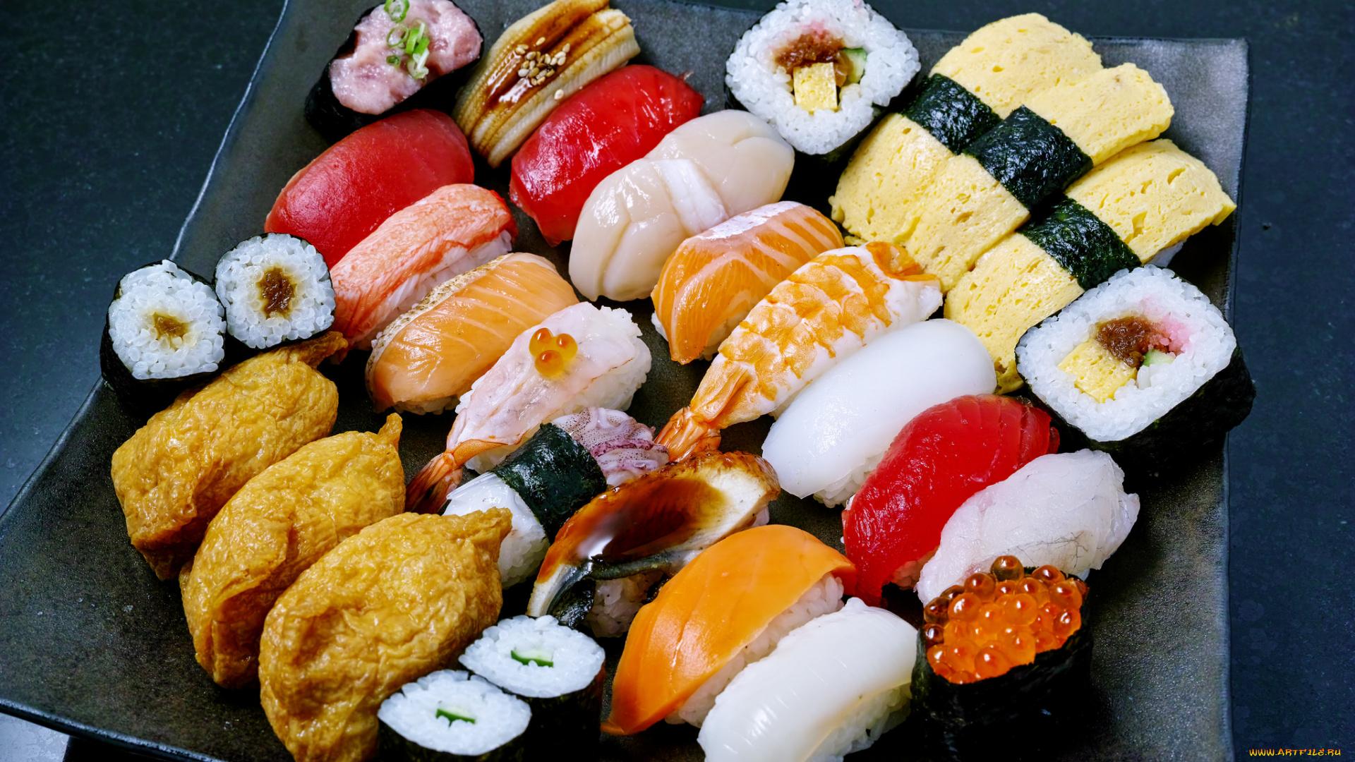 Суши роллы красивые фото