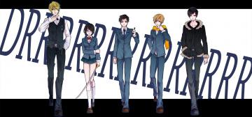 Картинка аниме durarara шизуо хейваджима изая орихара дюрара парни