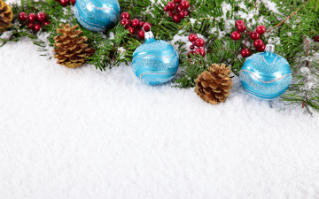 Картинка праздничные шары christmas merry украшения снег новый год рождество balls decoration