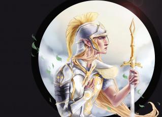 обоя фэнтези, эльфы, рыцарь
