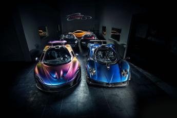Картинка автомобили разные+вместе mixed