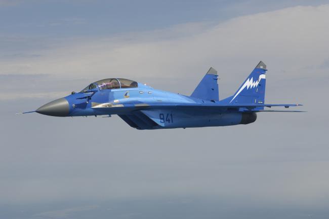Обои картинки фото миг- 29, авиация, боевые самолёты, истребитель, миг-, 29