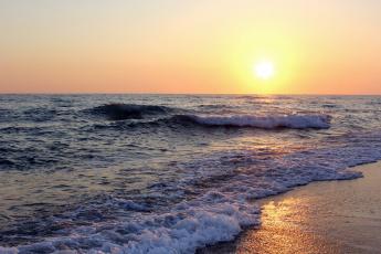 Картинка природа восходы закаты закат берег