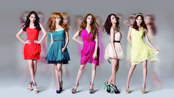 Картинка музыка kara группа рок девушки азиатки корея поп
