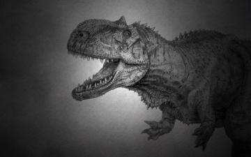 Картинка динозавр рисованные животные +доисторические хищник dinosaur