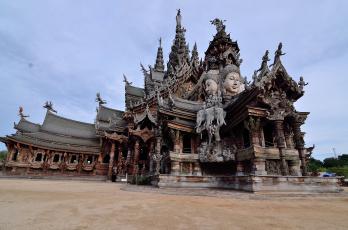 обоя города, - исторические,  архитектурные памятники, святилище, таиланд, паттайя