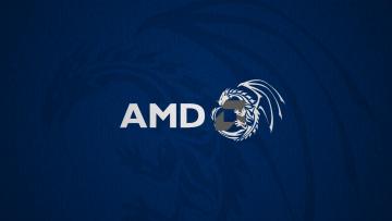 обоя компьютеры, amd, логотип, фон