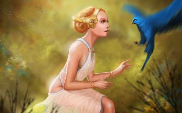 обоя fantasy, фэнтези, девушки, фэнтази