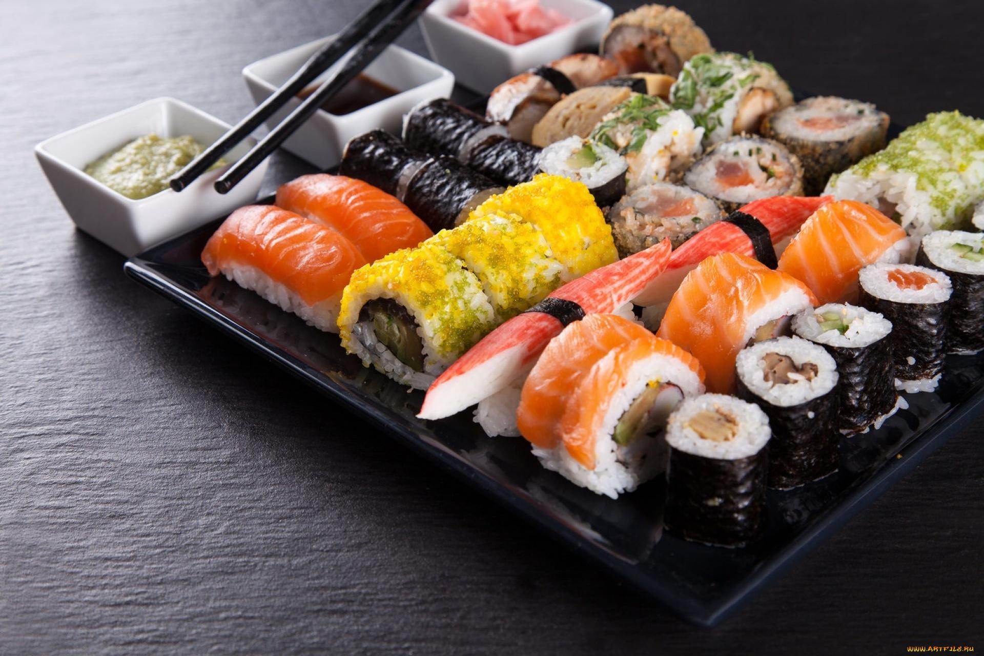 Картинки роллы суши, сделать оригинальную
