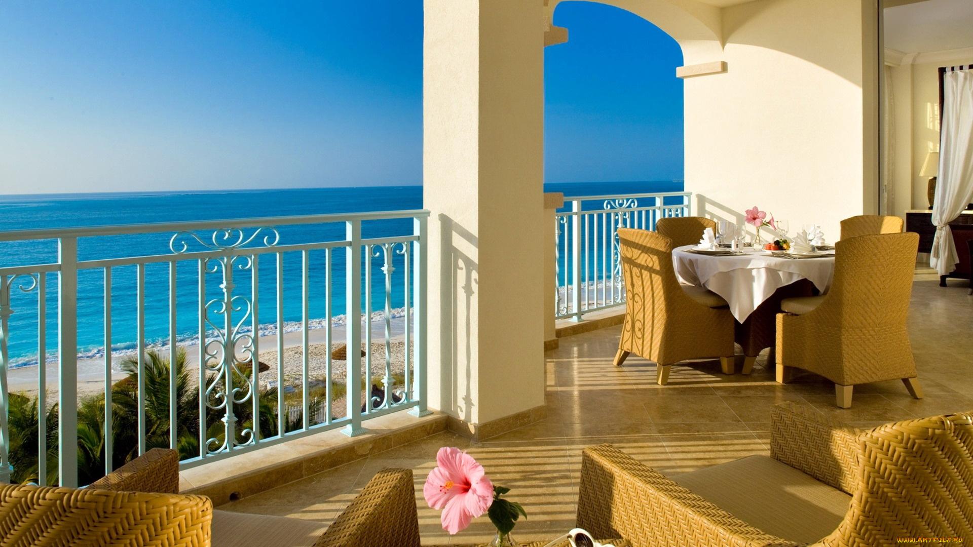 Скачать обои интерьер, веранды, , террасы, , балконы, кресла.