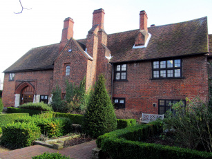 обоя anne of cleves house, dartford, kent uk, города, - здания,  дома, anne, of, cleves, house, kent, uk
