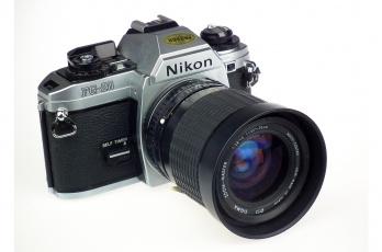 обоя nikon fg-20, бренды, nikon, фотокамера