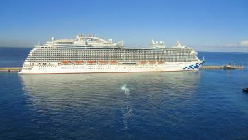 обоя royal princess, корабли, лайнеры, лайнер, круиз
