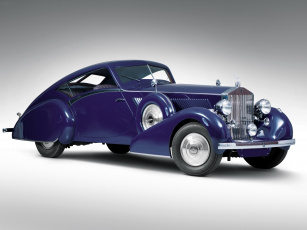 обоя rolls-royce phantom iii aero coupe 1937, автомобили, rolls-royce, phantom, iii, aero, coupe, 1937
