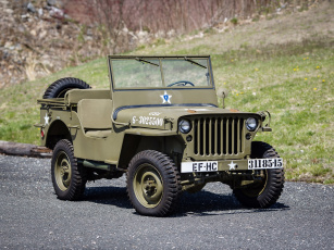 обоя willys mb 1942, техника, военная техника, willys, 1942, mb
