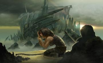Картинка видео игры tomb raider 2013 арт lara croft