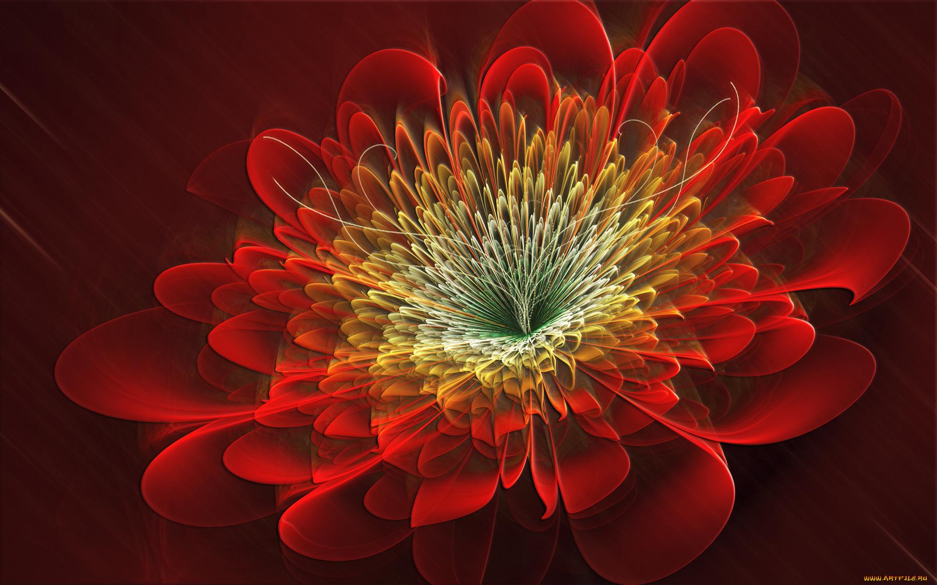 Открытки в 3д-цветы смотреть онлайн