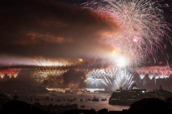 Картинка города сидней австралия праздник
