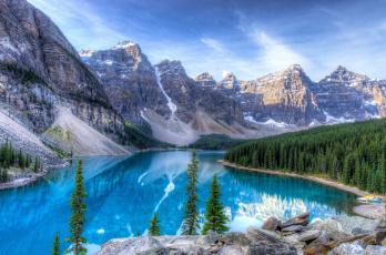 Картинка природа реки озера пейзаж горы озеро лес