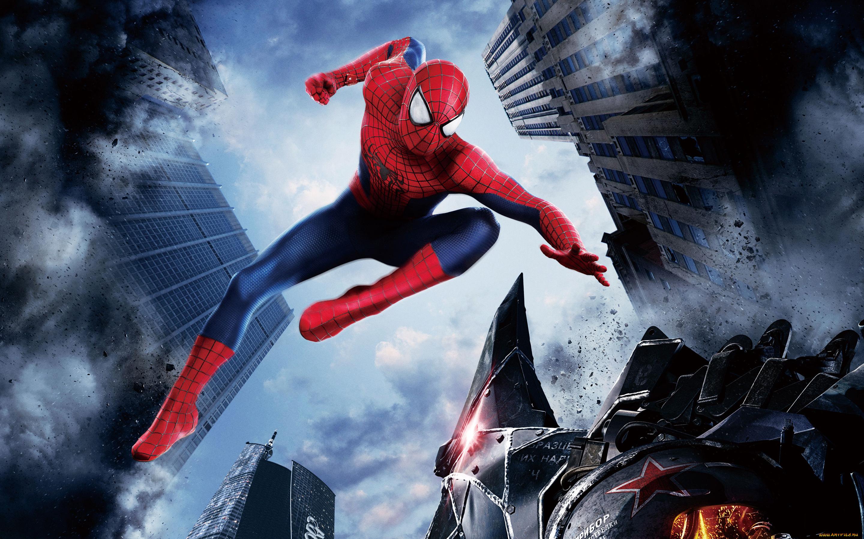 человек паук прыжок  № 3316530  скачать