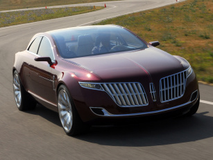 обоя lincoln mkr concept 2007, автомобили, lincoln, трасса, 2007, concept, mkr